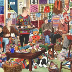 Knit & Natter 1000 PC Jigsaw Puzzle
