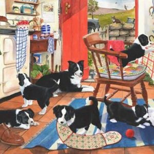 Mum's Helpers 500 Extra Large PC Jigsaw Puzzle