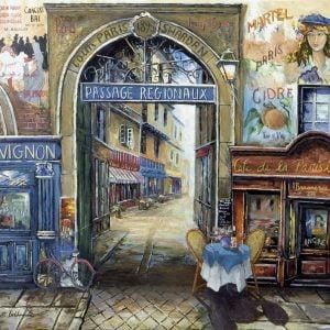 Passage to Paris 1500 PC Jigsaw Puzzle