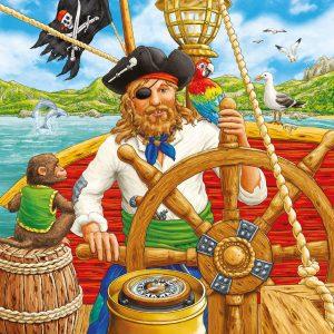 Pirate Adventure 3 x 49PC Ravensburger Jigsaw Puzzle