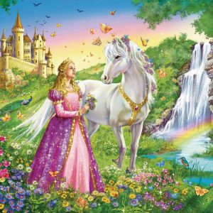 Princess with Horse Puzzle