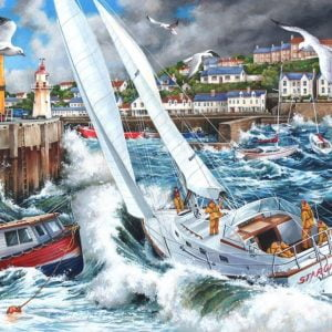 Storm Chased 1000 PC Jigsaw Puzzle