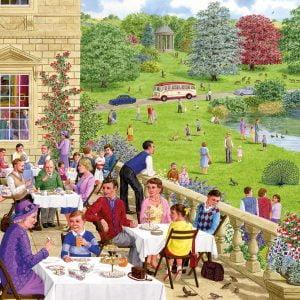 Tea on The Terrace 500 PC Jigsaw Puzzle