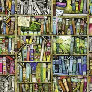 The Bizarre Bookshop 1000pc Jigsaw Puzzle