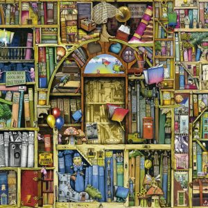 The Bizarre Bookshop 2 1000PC Ravensburger Jigsaw Puzzle