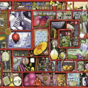 The Red Box 1000PC Jigsaw Puzzle