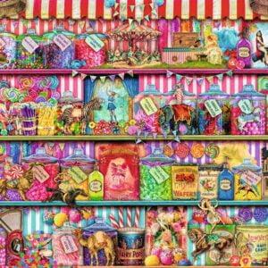The Sweet Shop 500 Piece Puzzle - Ravensburger
