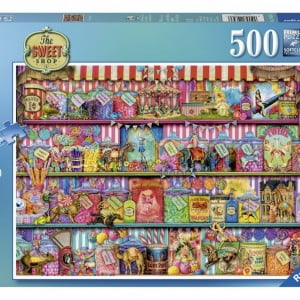 The Sweet Shop 500pc Ravensburger Jigsaw Puzzle