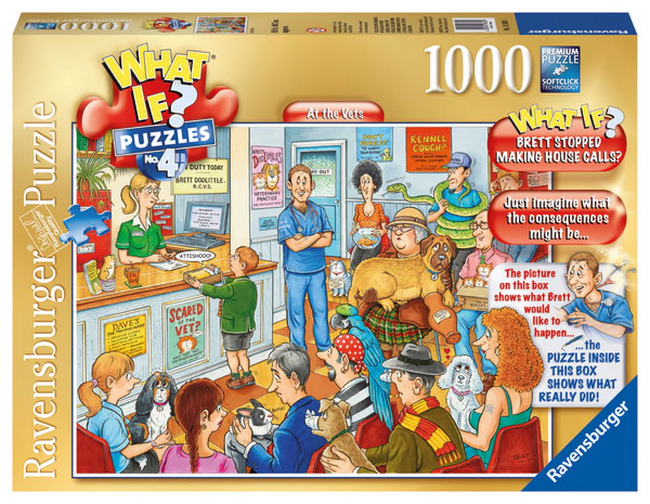 What If No 4 At the Vets 1000PC Jigsaw Puzzle