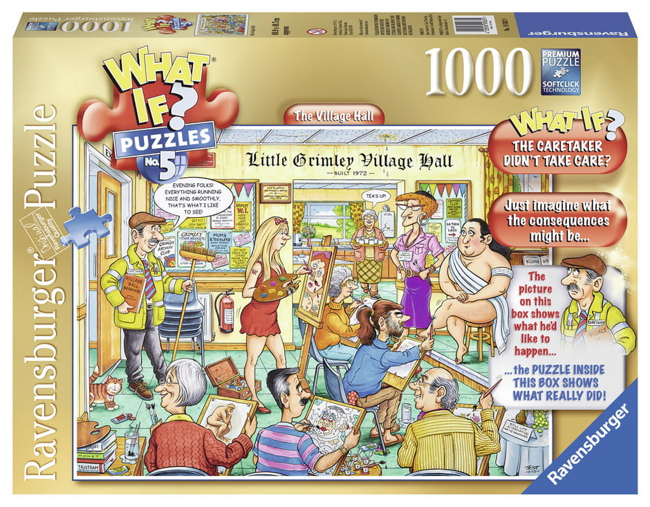 What If No 5 The Village Hall 1000PC Jigsaw Puzzle