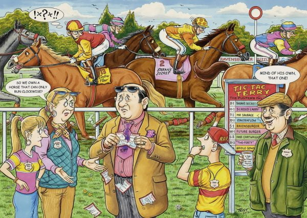 What If No 8 The Racehorse 1000PC Jigsaw Puzzle