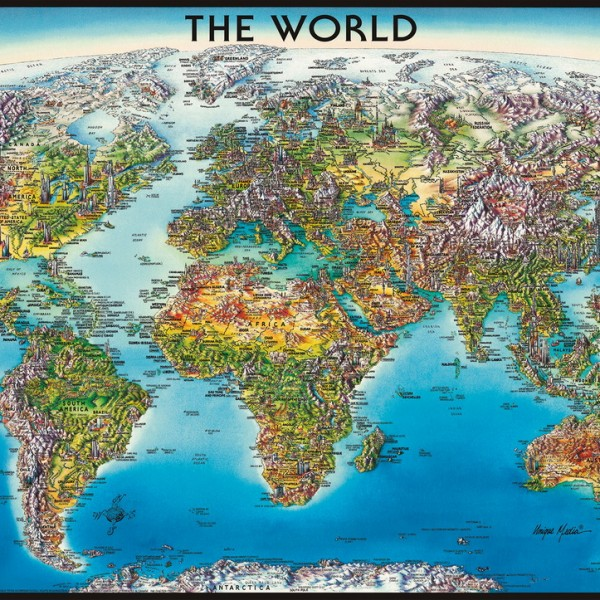 The World 2000pc Jigsaw Puzzle