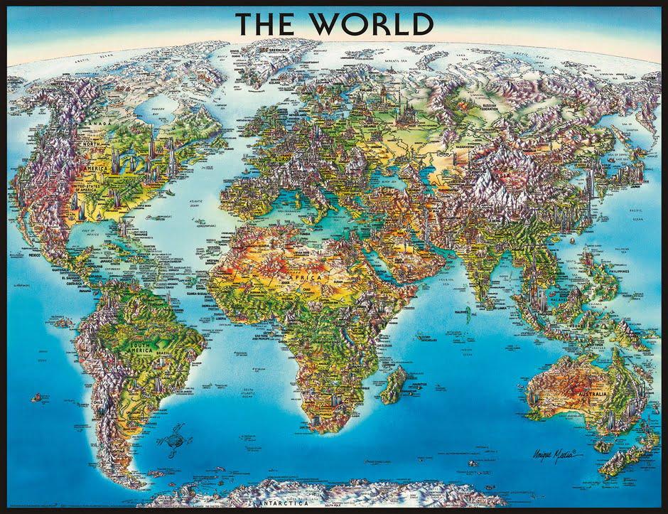 Australia Map Jigsaw.World Map 2000pc Jigsaw Puzzle Puzzle Palace Australia