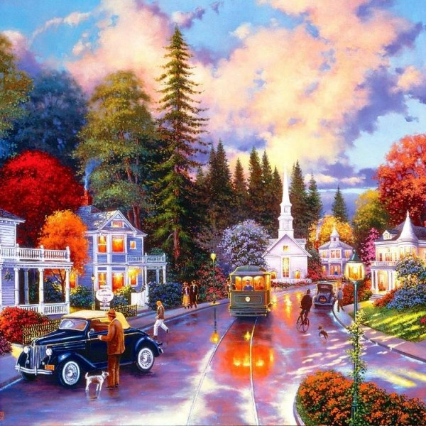 Simpler Times 1000 PC Jigsaw Puzzle
