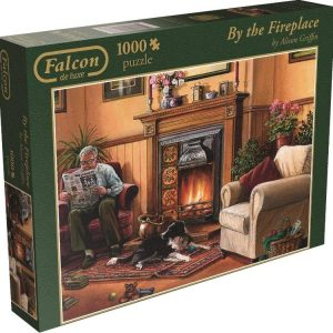 By The Fireplace 1000 PC Jigsaw Puzzle