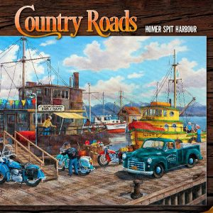 Country Roads Homer Spit Harbour 1000 PC Jigsaw Puzzle