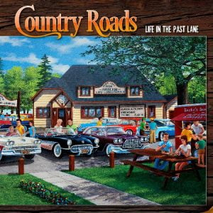 Country Roads Life in the Past Lane 1000 PC Jigsaw Puzzle