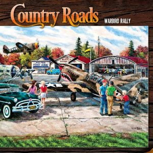 Country Roads Warbird Rally 1000 PC Jigsaw Puzzle