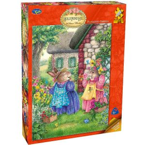 Holly Pond Hill Flowerbed Friends 1000 PC Jigsaw Puzzle