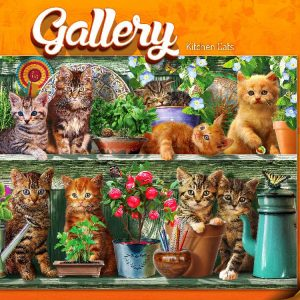 Kitchen Cats 300 PC Jigsaw Puzzle