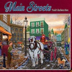 Main Streets Frank's Hardware Store 500 PC Holdson Jigsaw Puzzle