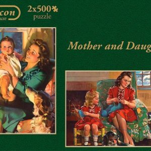 Mother & Daughter 2 x 500 PC Jigsaw Puzzle