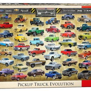 Pickup Truck Evolution 1000 PC Eurographics Jigsaw Puzzle