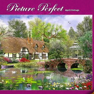 Picture Perfect April Cottage 1000 PC Holdson Jigsaw Puzzle