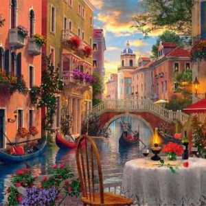 Romantic View 1500 PC Jigsaw Puzzle