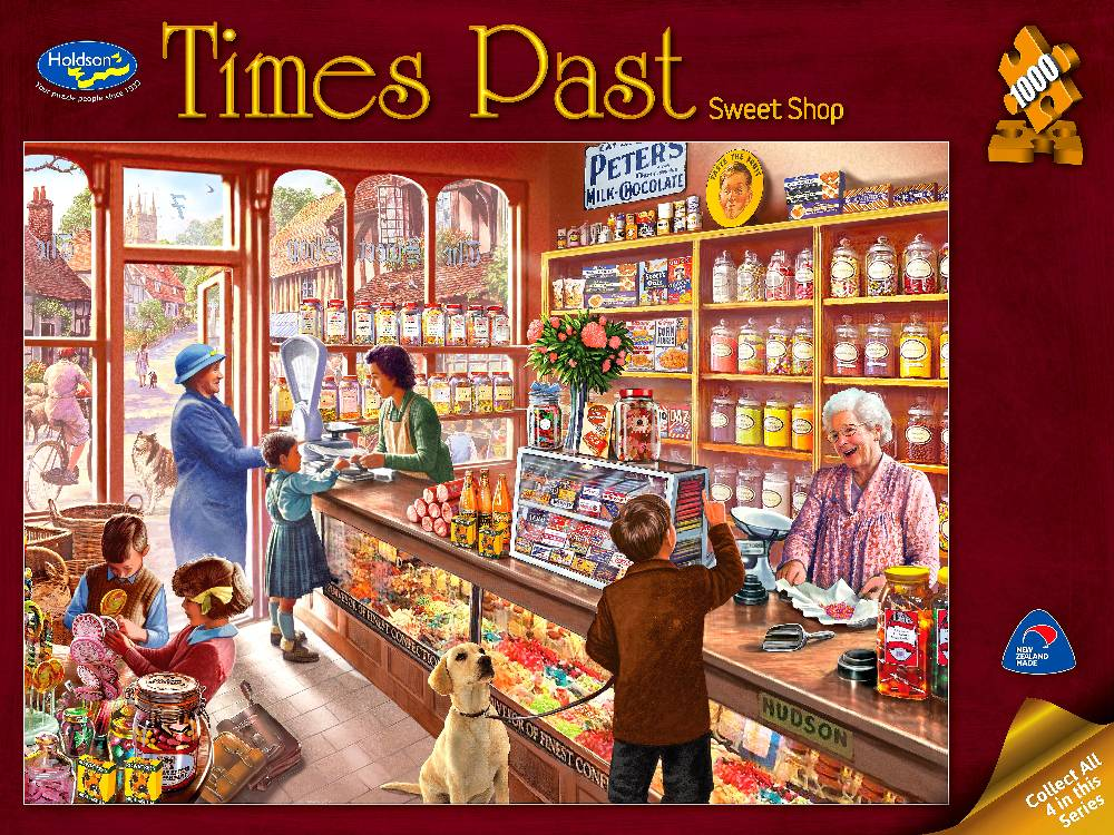 Holdson 1000 PC Sweet Shop Times