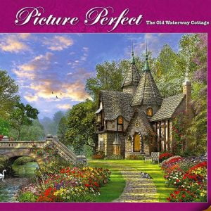 The Old Waterway Cottage 1000 PC Holdson Jigsaw Puzzle