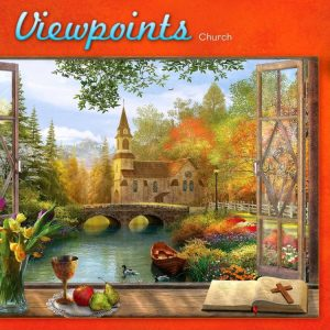 Viewpoints Church 1000PC Jigsaw Puzzle