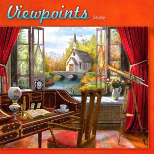 Viewpoints Study 1000 PC Jigsaw Puzzle