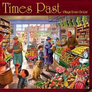 Village Green Grocer 1000 PC Jigsaw Puzzle