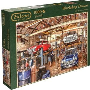 Workshop Dream 1000 PC Falcon de luxe Jigsaw Puzzle
