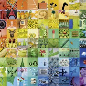 99 Colors 1500 PC Jigsaw Puzzle