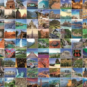 99 Most Beautiful Places 1000 PC Jigsaw Puzzle