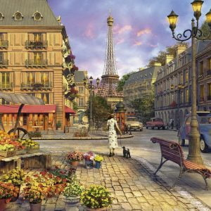 A Walk Through Paris 500 PC Jigsaw Puzzle