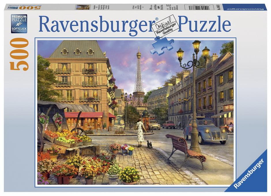A Walk Through Paris 500 PC Jigsaw Puzzle