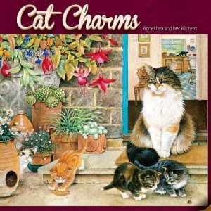 Agnethea & her Kittens 1000 PC Jigsaw Puzzle