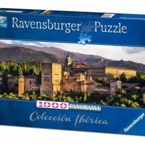 Alhambra Granada 1000pc Jigsaw Puzzle