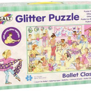 Ballet Class 60 PC Glitter Puzzle