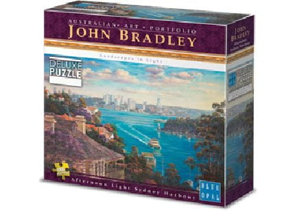 Blue Opal Deluxe Afternoon Sydney Harbour 1000 PC Jigsaw Puzzle