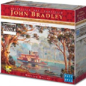 Blue Opal Deluxe Murray in the Morning 1000 PC Jigsaw Puzzle