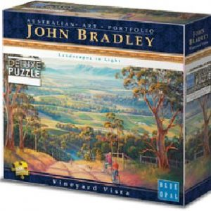 Blue Opal Deluxe Vineyard Vista 1000 PC Jigsaw Puzzle