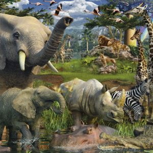 Bountiful Wildlife 3000PC Jigsaw Puzzle