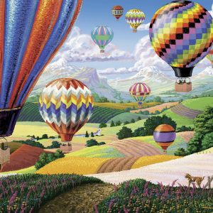 Brilliant Balloons LGE FORMAT 500 PC Jigsaw Puzzle