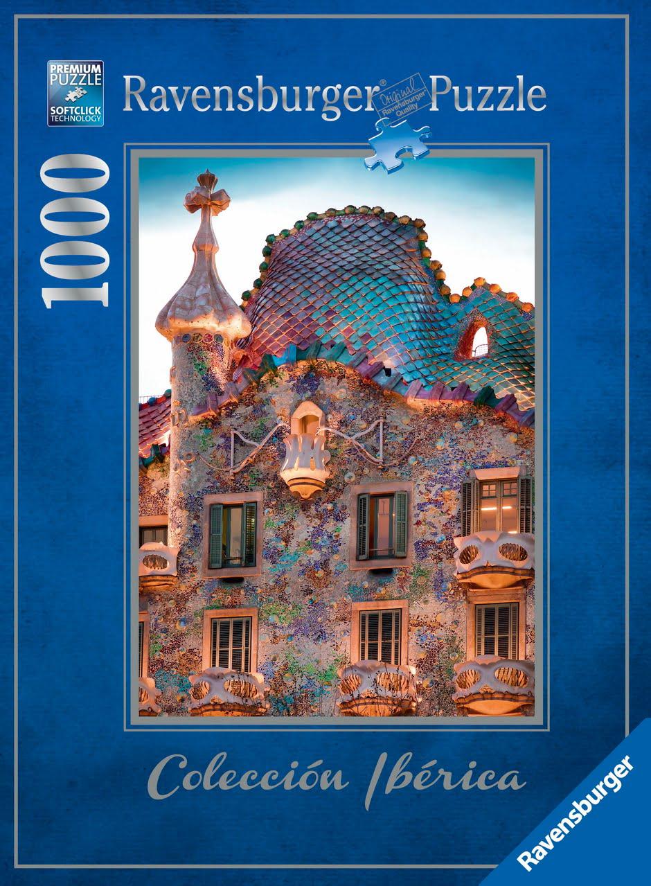 Stock Cars For Sale >> Casa Battlo Barcelona 1000 PC Ravensburger Jigsaw Puzzle
