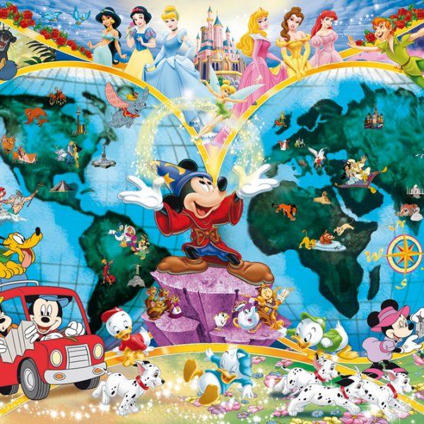 Disney World Map 1000 PC Jigsaw Puzzle