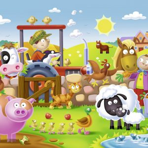 Farmyard Friends 16 PC Jigsaw Puzzle